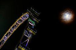 Cingapura Flyer e a lua