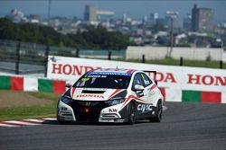 Takuya Izawa, Honda Civic WTCC, Honda Racing Team JAS