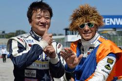Yukinori Taniguchi, BMW 320 TC, Wiechers-Sport en Stefano D'Aste, BMW 320 TC, PB Racing