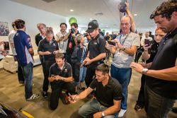 Pilotos americanos no evento Le Mans