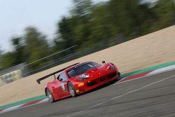 #59 AF Corse Ferrari 458 Italia: Andrew Danyliw, Matteo Beretta