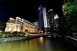 Teatral Cingapura horizonte