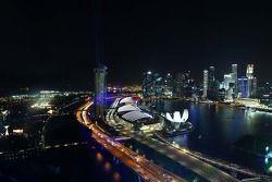Visão teatral do Cingapura Flyer