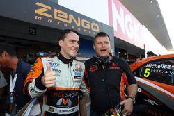 Norbert Michelisz, Honda Civic, Zengo Motorsport et Zoltan Zengo, Zengo Motorsport