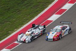 #1 Audi Sport Team Joest Audi R18 e-tron quattro: André Lotterer, Benoit Tréluyer, Marcel Fässler #7