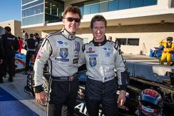 Scott Tucker et Ryan Briscoe