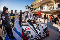 P1 and overall winner Klaus Graf celebrates