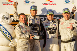 Michelin Green X Challenge: Prototype winners Lucas Luhr and Klaus Graf