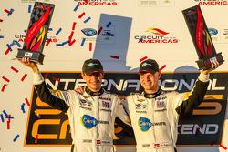 GT podium: class winners Jan Magnussen and Antonio Garcia