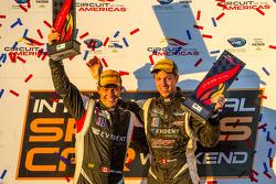 PC podium: class winners Kyle Marcelli and Chris Cumming