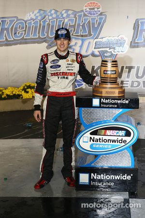O vencedor Ryan Blaney