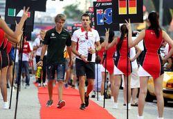 Charles Pic, Catheram Formula One Team y Jules Bianchi, Marussia Formula One Team