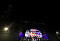 Sebastian Vettel, Red Bull Racing, Fernando Alonso, Scuderia Ferrari et Kimi Räikkönen, Lotus F1 Tea
