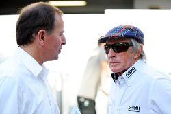 Martin Brundle, Sky Sports con Jackie Stewart
