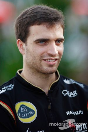 Jerome d'Ambrosio, Lotus F1 Team tercer piloto
