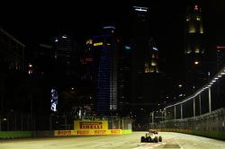 Пол ди Реста. ГП Сингапура, Воскресная гонка.