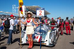 #2 Audi on the grid