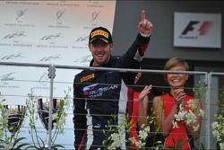 Race winner Sam Bird