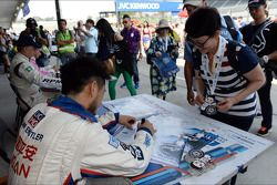 Чарльз Энг. Сузука, воскресенье, перед первой гонкой.