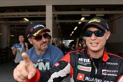 Yvan Muller, Chevrolet Cruze 1.6T, RML e Robert Huff, SEAT Leon WTCC, ALL-INKL.COM Munnich Motorsport