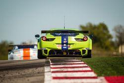#57 Krohn Racing, Ferrari 458 Italia: Tracy Krohn, Nic Jonsson, Maurizio Mediani