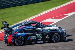 #55 BMW Team RLL BMW Z4 GTE: Bill Auberlen, Joey Hand and #48 Paul Miller Racing Porsche 911 GT3 RSR: Bryce Miller, Marco Holzer