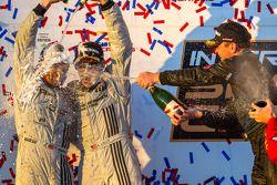 GTC podio: champanhe para Patrick Dempsey e Andy Lally