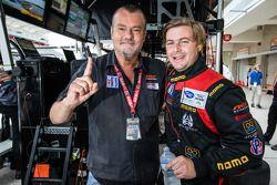 NGT Motorsport eigenaar Ramez Wahab en Henrique Cisneros