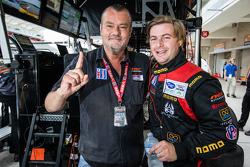 NGT Motorsport team owner Ramez Wahab and Henrique Cisneros