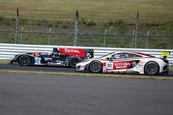 #24 Oak Racing Morgan-Judd: David Cheng, Jeffrey Lee, Congfu Cheng e #92 AAI-RSTRADA McLaren MP4-12C