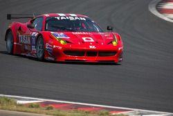 #70 Taisan Ken Endless Ferrari 458 GTE: Akira Iida, Shinji Nakano