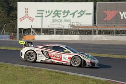 #92 AAI-RSTRADA McLaren MP4-12C GT3: Yasu Kikuchi, Morris Chen