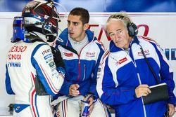 Stéphane Sarrazin, Sébastien Buemi et Hugues de Chaunac