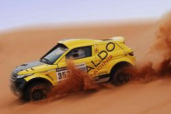 ALDO Racing tests the Range Rover Desert Warrior 3 in England ahead of next year's Dakar