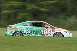 #196 RSR Motorsports Honda Civic SI: Tom Dyer, Andrew Novich