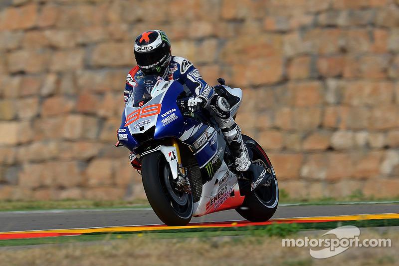 Jorge Lorenzo volvió a ser 2º en el GP de Aragón 2013