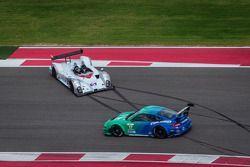Rodada de #5 Trabalho no grid Motorsport Oreca FLM09 Oreca: Ryan Dalziel, John Pew