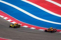 #4 Corvette Racing Chevrolet Corvette C6 ZR1: Oliver Gavin, Tom Milner, #30 NGT Motorsport Porsche 9