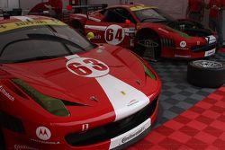 Scuderia Corsa Ferrari 458s