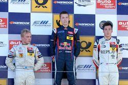 1er Daniil Kvyat, 2e Felix Rosenqvist, 3e Alex Lynn