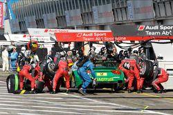 Parada de pits de Mike Rockenfeller, Audi Sport Team Phoenix Audi RS 5 DTM