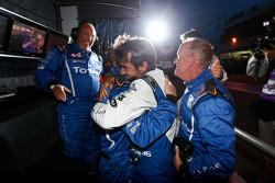 A Alpine team comemora o campeonato