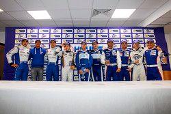 campeões de 2013: Pierre Ragues, Nelson Panciatici, Paul-Loup Chatin, Gary Hirsch, Matt Griffin, Joh