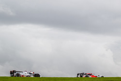 #49 Pecom Racing Oreca 03 - Nissan: Luis Perez-Companc, Nicolas Minassian, Pierre Kaffer, #1 Audi Sport Team Joest Audi R18 e-tron quattro: André Lotterer, Benoit Tréluyer, Marcel Fässler