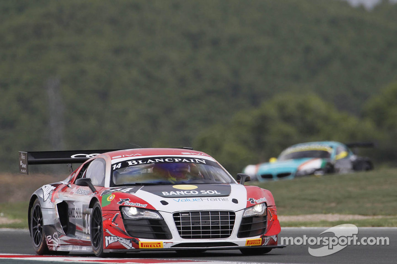 #14 Novadriver Audi R8 LMS ultra: Cesar Campanico, Michael Ammermüller