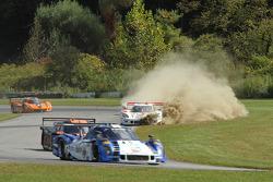 #9 Action Express Racing Corvette DP: Burt Frisselle, Brian Frisselle saindo da pista