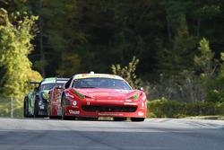 #61 R.Ferri/AIM Motorsport Racing met Ferrari Ferrari 458: Ken Wilden, Alex Tagliani
