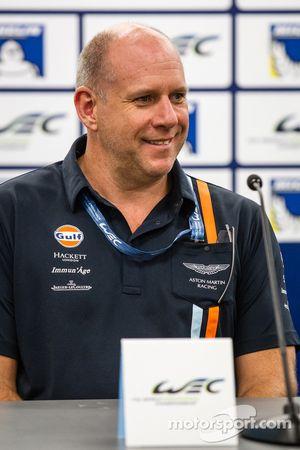 Press conference for the North American WEC drivers: Paul Dalla Lana