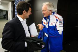 ACO President François Fillon and Hugues de Chaunac