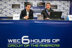 FIA WEC press conference: ACO President François Fillon and FIA WEC CEO Gérard Neveu